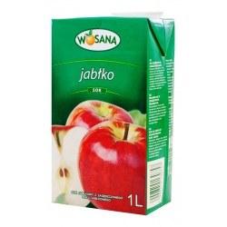 Wosana sok jabłkowy 100% 1l. 6 sztuk