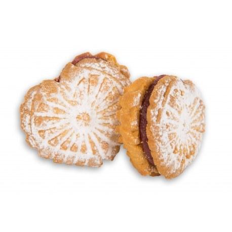 Ciasteczka z Krakowa Serduszka poziomkowe 2.2 kg