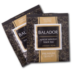 Herbata kopertowana Balador Czarna 100/500 sztuk