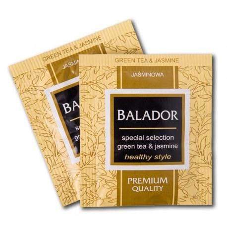 Herbata kopertowana Balador Zielona z jaśminem i miodem 100 sztuk