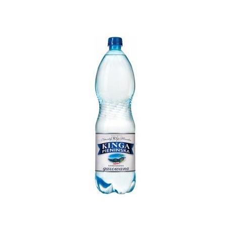 Woda Kinga Pienińska Gazowana 1.5l 6 sztuk