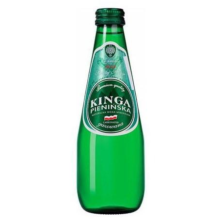 Woda Kinga Pienińska Gazowana Szkło 0.3l 12 sztuk