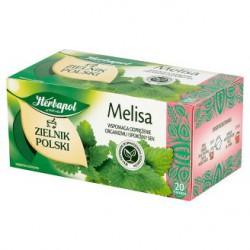 Herbapol Zielnik Polski Melisa Herbatka ziołowa 40 g 20 torebek