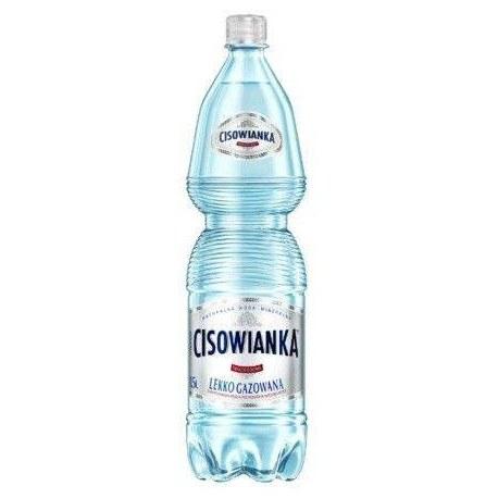 Woda Cisowianka lekko gazowana 1.5l 6 sztuk
