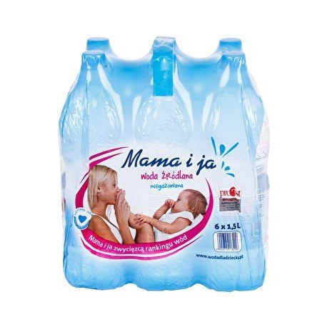 Woda Mama i Ja niegazowana 1.5 L 6 SZTUK