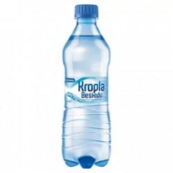 KROPLA BESKIDU Naturalna woda mineralna gazowana 500 ml 12 sztuk