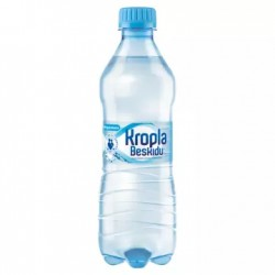 KROPLA BESKIDU Naturalna woda mineralna niegazowana 500 ml 12 sztuk