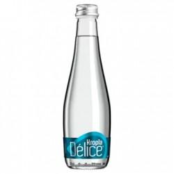 KROPLA DELICE Woda mineralna gazowana (szkło) 330 ml 12 sztuk