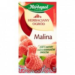 HERBAPOL Herbaciany ogród Herbata owocowo-ziołowa Malinowa 20 torebek 60 g