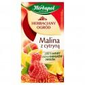 HERBAPOL Herbaciany ogród Herbata owocowo-ziołowa Malina z Cytryną 20 torebek 60 g