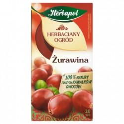 HERBAPOL Herbaciany ogród Herbata owocowo-ziołowa Żurawina 20 torebek 50 g