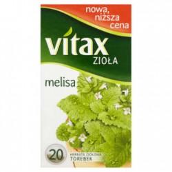VITAX Zioła Melisa 20 torebek 1 szt