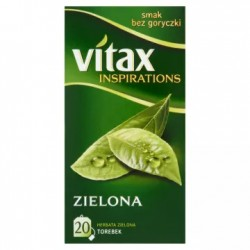 VITAX Inspirations Herbata zielona 20 torebek 30 g