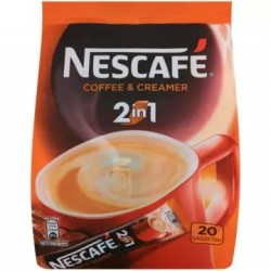 NESCAFÉ Classic Kawa rozpuszczalna 2in1 - 20 szt. 200 g
