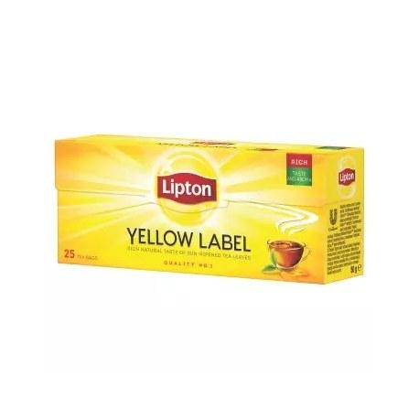 LIPTON Yellow Label Herbata czarna 25 torebek 50 g