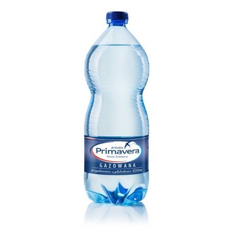 Woda Primavera 1l gazowana 6 sztuk