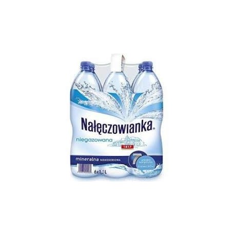Woda Nałęczowianka niegazowana 1.5l PALETA 504 BUTELKI