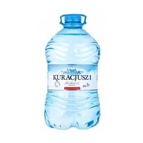 Woda Kuracjusz Beskidzki 5 L PALETA 108 SZTUK