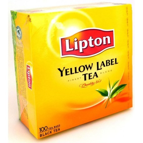 Lipton Yellow Label 100 torebek